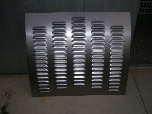 Deck Lid 32 Ford Trunk Style Gasser Weld In Rod Louvers