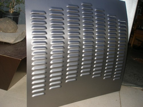 Deck Model A Trunk Style Gasser Rod Louvers And Sheet