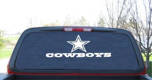 cowboys dallas decals window decal rear sticker stickers trucks cars vehicles