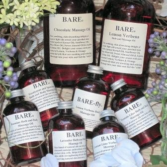 BARE Lemon Verbena Massage & Bath Oil