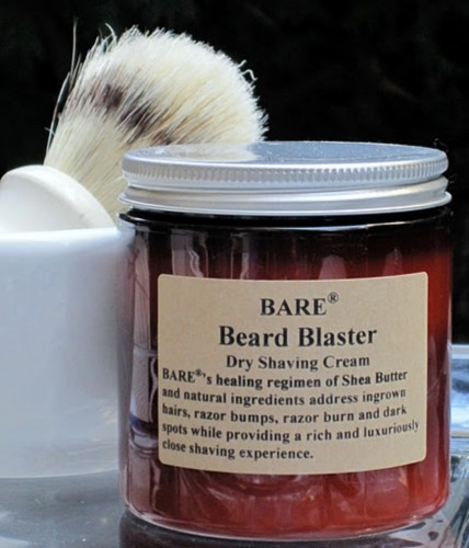 "BARE ""BEARD BLASTER"" Dry Shaving Cream"