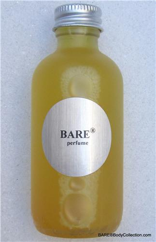 "BARE ""BARE-LY LEGAL"" Perfume in Frosted Glass) Flacon"