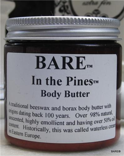 "BARE ""BARE IN THE PINES"" Body Butter"