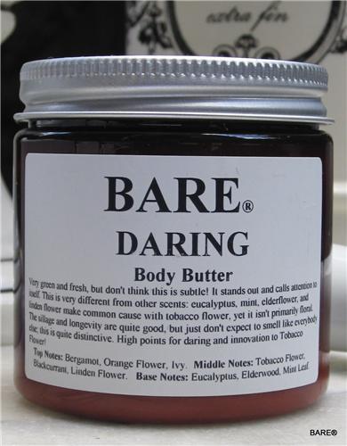 """BARE """"DARING"""" (unisex) Body Butter"""