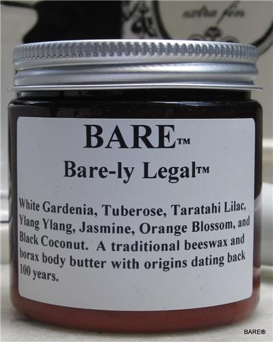 "BARE ""BARE-LY LEGAL"" Body Butter"