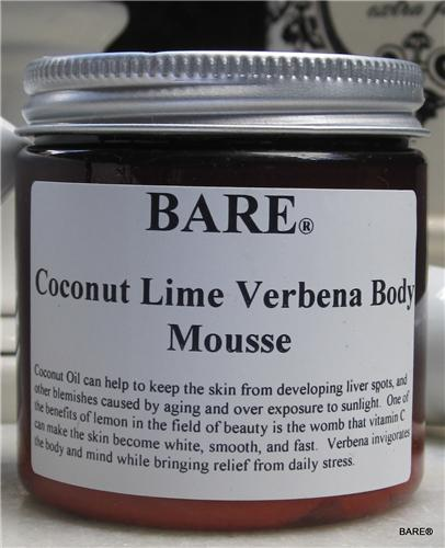 BARE Coconut Lime Verbena Body Butter