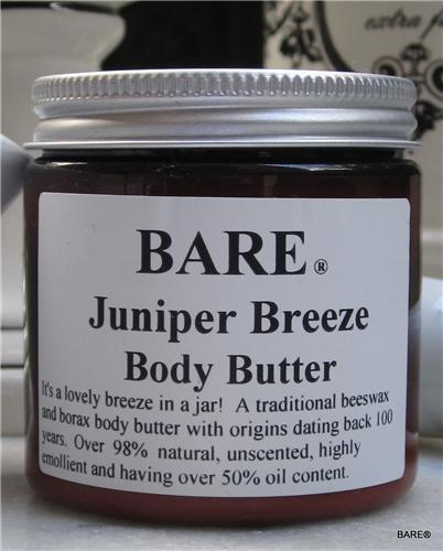 BARE Juniper Breeze Body Butter