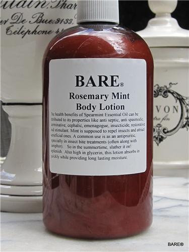 BARE Rosemary Mint Hand & Body Lotion