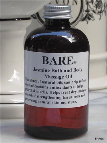 BARE Jasmine Massage & Bath Oil