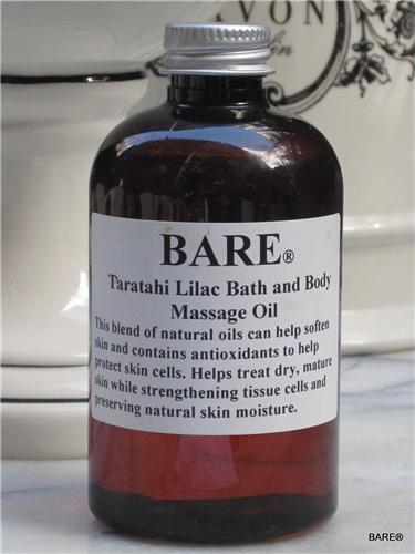 BARE Lilac Massage & Bath Oil