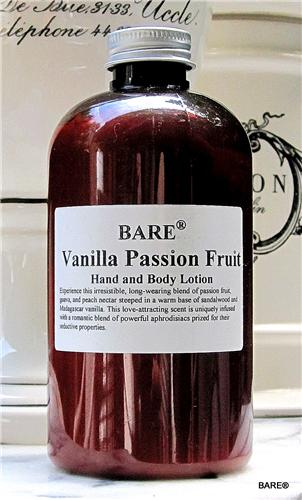 BARE Madagascar Vanilla Passion Fruit Hand & Body Lotion