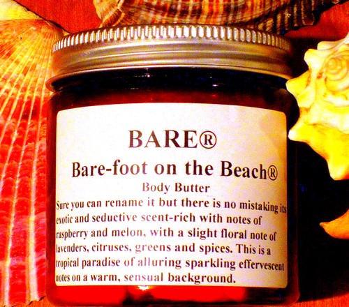 "BARE ""BARE-FOOT ON THE BEACH"" Body Butter"