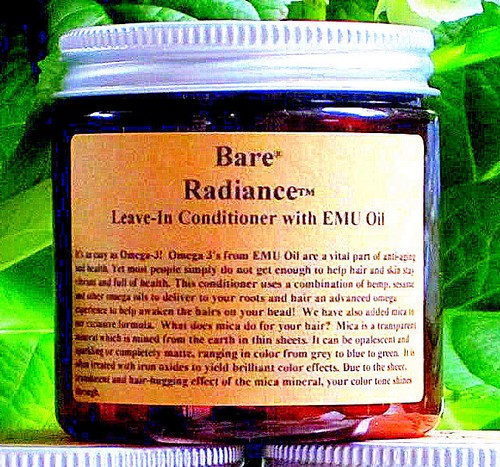 BARE RADIANCE Leave-In Conditioner with EMU Oil