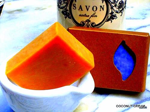 BARE BLOCK Coconut Cream Soap