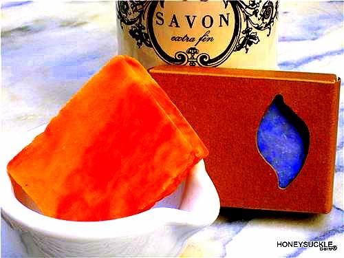 BARE BLOCK Honeysuckle Soap