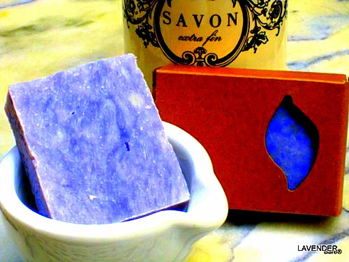 BARE BLOCK Lavender Soap