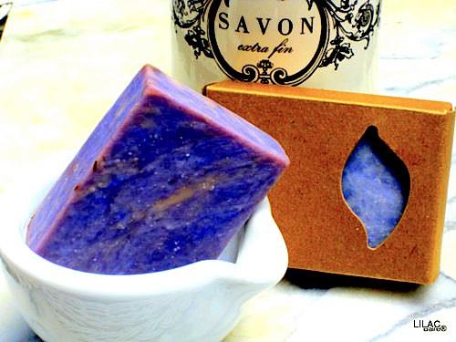 BARE BLOCK Lilac Soap