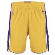 LA Lakers Yellow NBA Swingman Basketball Shorts.jpg