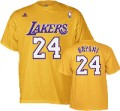 LA Lakers Kobe Bryant Yellow NBA Jersey T-Shirt.jpg