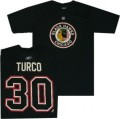 Chicago Blackhawks Marty Turco NHL Jersey T-Shirt.JPG