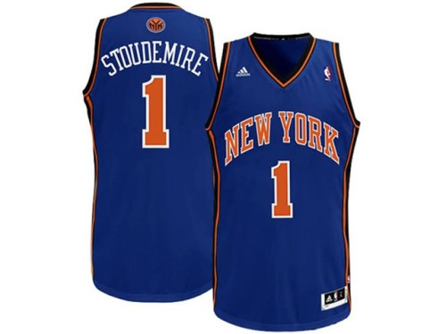 New york Knicks 1 Amare Stoudemire blue nba jersey.jpeg