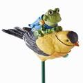 Goldfinch Frog Garden Guardian Stake Department 56 4039898