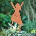 Dance for Joy Rejoice praise God Garden Stake by Carol Roeda 18238