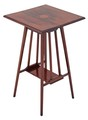 Antique Edwardian walnut side occasional window table