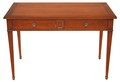 Antique Brigitte Forester John Lewis walnut writing desk dressing table