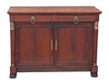 Antique 19C oak sideboard chiffonier dresser cupboard European