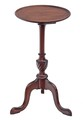 Antique Georgian revival mahogany wine table side occasional
