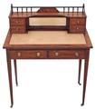 Antique quality Victorian Rosewood ladies writing desk dressing table
