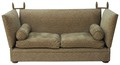 Quality handmade large George Smith Tiplady knole sofa settee