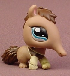 Littlest Pet Shop #1518 Brown & Dark Brown Anteater With ... Ragnarok Online 2 Anteater
