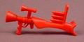 Disney Darkwing Duck Red Machine Gun Accessory For A Honker Muddlefoot Action Figure