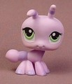 Littlest Pet Shop #1308 Light Purple Ant With Green Eyes, Special Edition Pet, Portable Pets