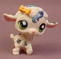 Littlest Pet Shop #1068 White Lamb Baby Sheep With Green Cloud Eyes, Tattoo Patterns