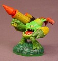 Skylanders Zook Figure, Life Element, Spyro's Adventures Series, 2 3/4 Inches Tall, Activision