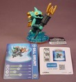 Skylanders Gill Grunt Figure With Card, Sticker Sheet & Code Tag, Water Element, Giants