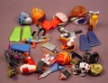 Tech Deck Dude 30 Piece Lot Of Accessories For The Magnetic Figures, X-Concepts