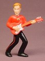 The Wiggles Murray With A Guitar PVC Figure, 3 1/4 Inches Tall, Children's TV Show, 2004