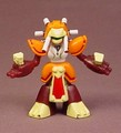 Medabots Warbandit Figure, 2 1/8 Inches Tall, Hasbro Takara
