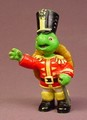 Franklin The Turtle In A Soldier Costume, 3 3/8 Inches Tall, 1997 Irwin