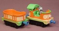 Chuggington Diecast Metal Zephie's Monkey Business Train Engine & Car, Die-Cast, 2010