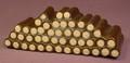 Tonka Log Wood Pile From A Camping The Smokey Bear Way Play Set #5020, 5 Inches Long