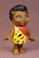 The Flintstone Kids Philo Quartz Figure, 3 1/2 Inches Tall, The Arms Move, Hanna-Barbera