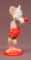 Animaniacs Holding A Bouquet Of Flowers PVC Figure, Pinky And The Brain, 3 Inches Tall, 1997