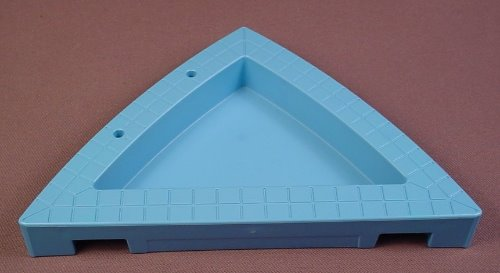 Playmobil Light Blue Triangular Shaped Swimming Pool With Tiles 4858 6 Inches Long 30 46 4220