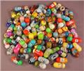 Mighty Beanz Mixed Lot Of 100, Group C, In Used Condition With Some Rubs Or Marks, Jumping Beans