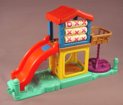 Fisher Price Little People 2003 Replacement Rocket Ship Ride For A Surprise Sounds Fun Park Set ...